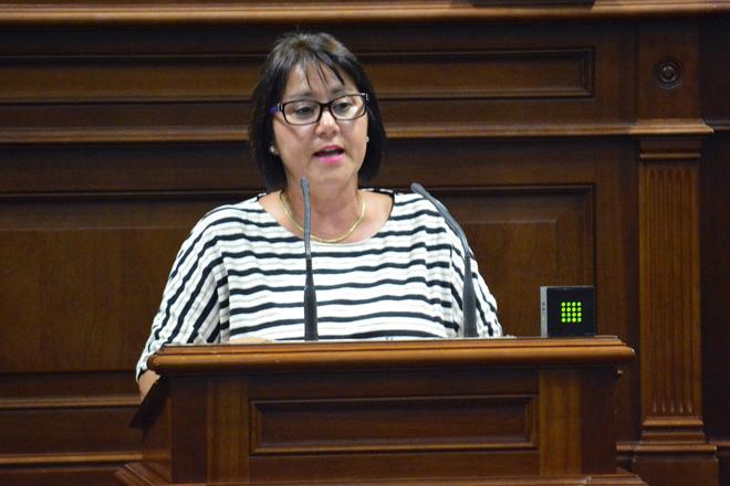 Gladys Rodríguez, que continuó como diputado pese a su condena en 2017.
